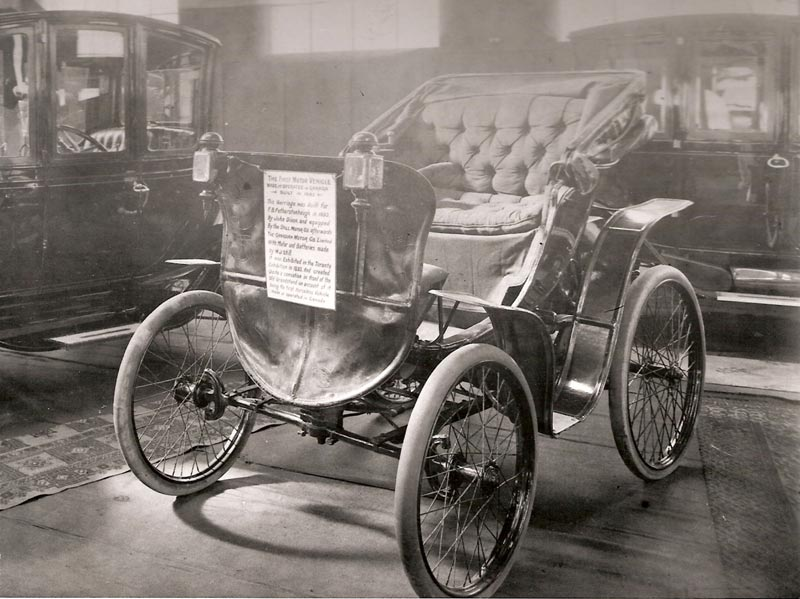 First Electric Motor Car In Canadas First Electric Car Sensation In 1893 Fascinating