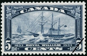 SS Royal William anniversary postage