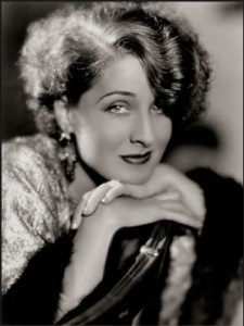 Glamour photo of Norma Shearer