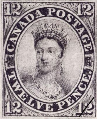 Early Canadian Postage Stamp