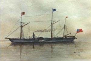 Painting of SS Frontenac, artist James Van Cleve